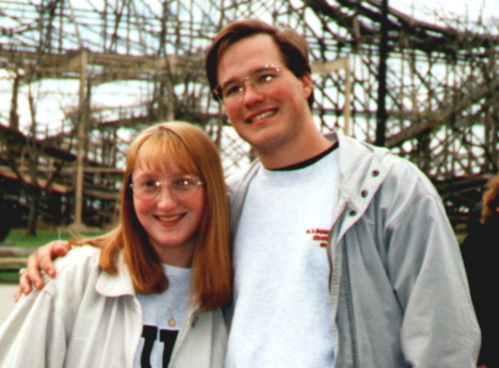 Heather and Matthew at Cedar Point