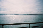 The Statue of Liberty from Battery Park